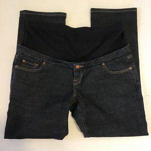 Zara Premium Maternity Indigo Jeans Size XL